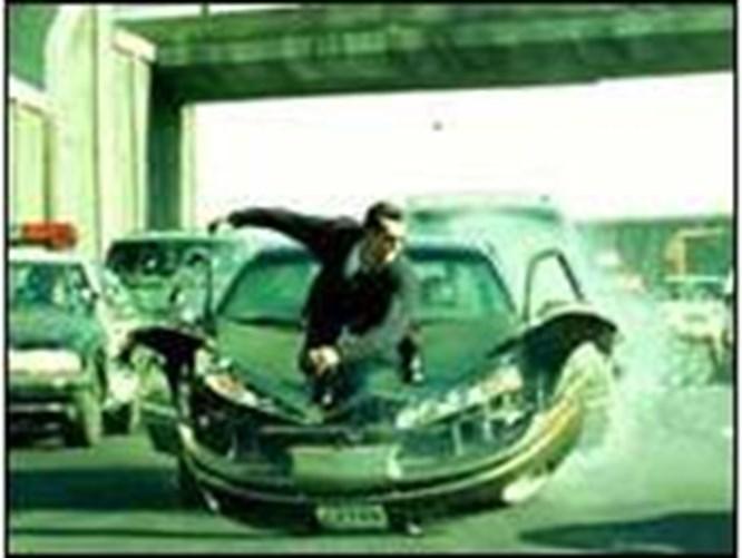 Bu kadar hata Matrix'te de olur!